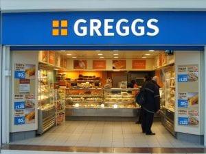 Greggs bakery