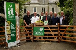 xxxxx, at the Launch of the Richhill Apple Harvest Fair 2015, Richhill, Co. Armagh. Picture Oliver McVeigh .