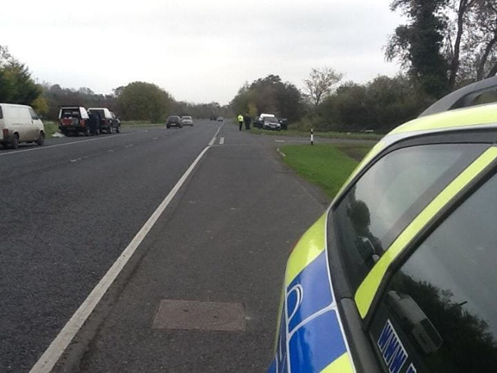 Police operation in Armagh