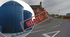 Anaerobic digester plans delayed
