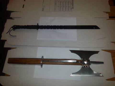 Weapons seized in Killylea