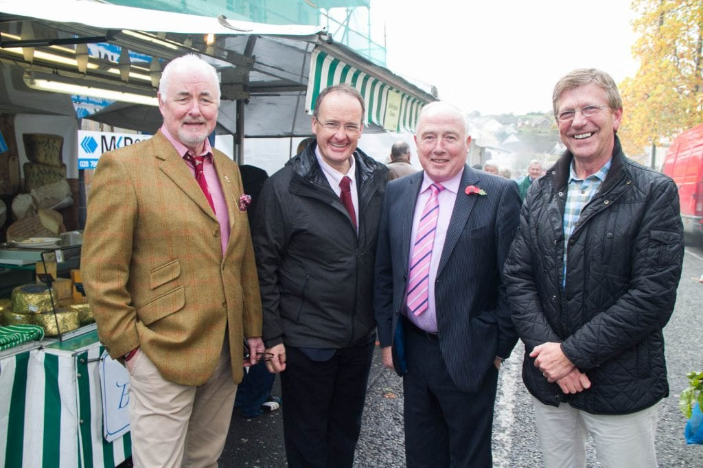 Terence Brannigan, Chairman of Tourism NI, Dr Howard Hastings OBE, Cllr Jim Speers and John Briggs enjoying the local produce on offer at this year's fayre. RAHF_5310 Richhill Apple Harvest Fayre is an authentic celebration of Armagh's distinctive local food and drink. The fayre allows people to explore the charm and natural beauty of the orchard county. The Richhill Apple Harvest Fayre celebrates the end of the harvest and has attracted thousands of people in 2014 and 2015. With cookery demonstrations by Armagh chefs, the WI centenary celebrations, Halloween and plenty of arts and crafts - this fayre is becoming more and more popular in the food and drink and tourism calendars. Information supplied by MGMPR Ltd.
