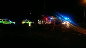 pdown accident
