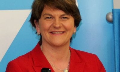 New First Minister Arlene Foster
