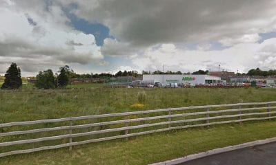 Derelict land adjacent to the Asda store in Portadown