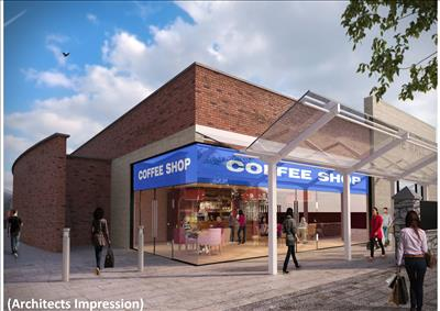 Architect's impression of how the former Burger King site in Armagh will look