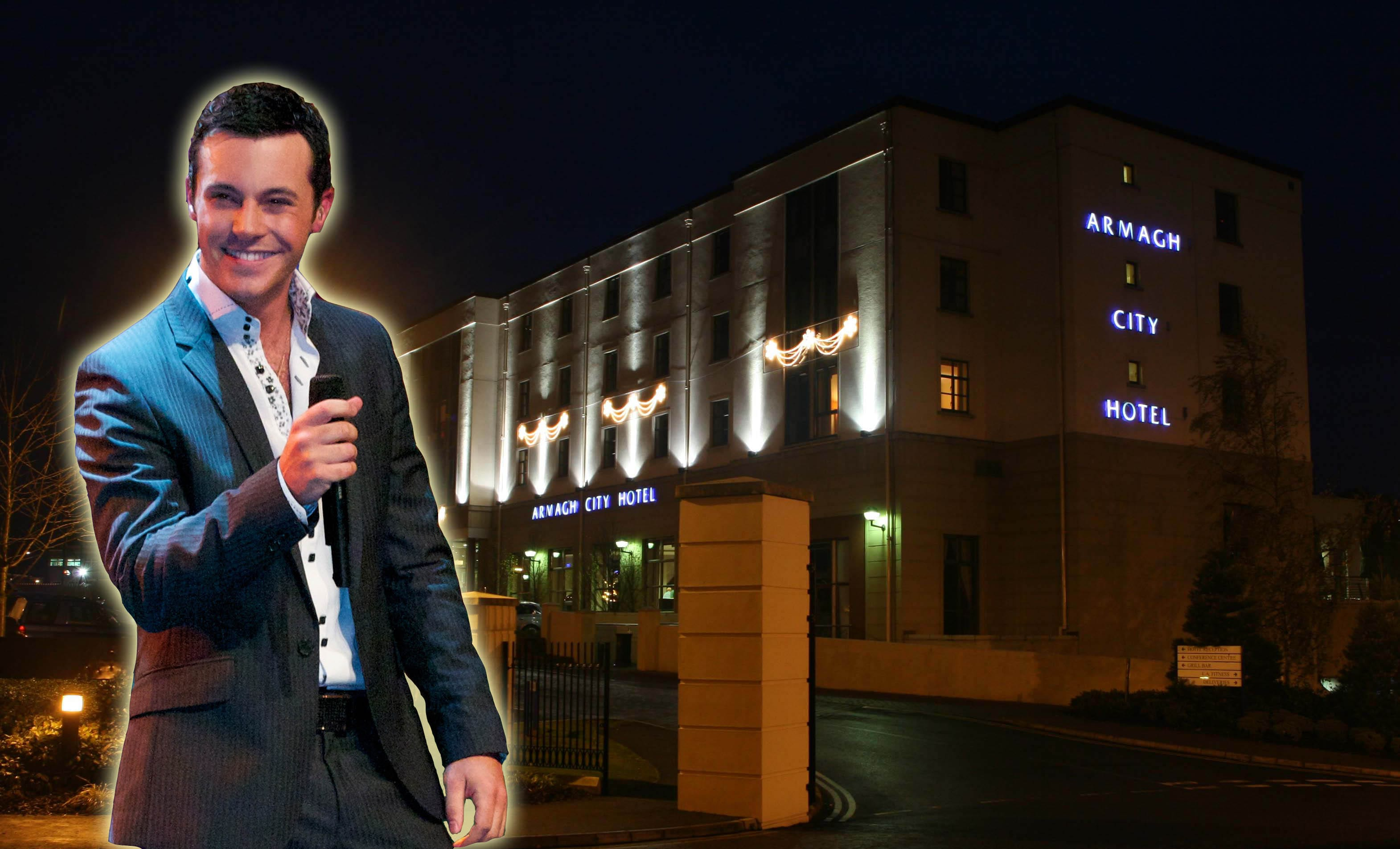 Nathan Carter is due to play in the Armagh City Hotel on March 26
