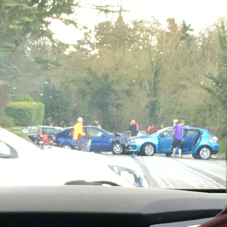 RTC on the Armagh to Keady Road