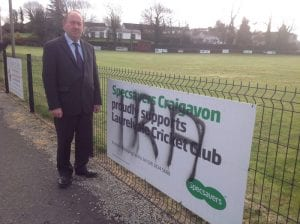 William Irwin MLA condemns those responsible for sectarian graffiti at Laurelvale Cricket grounds