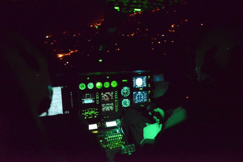 laser police helicopter