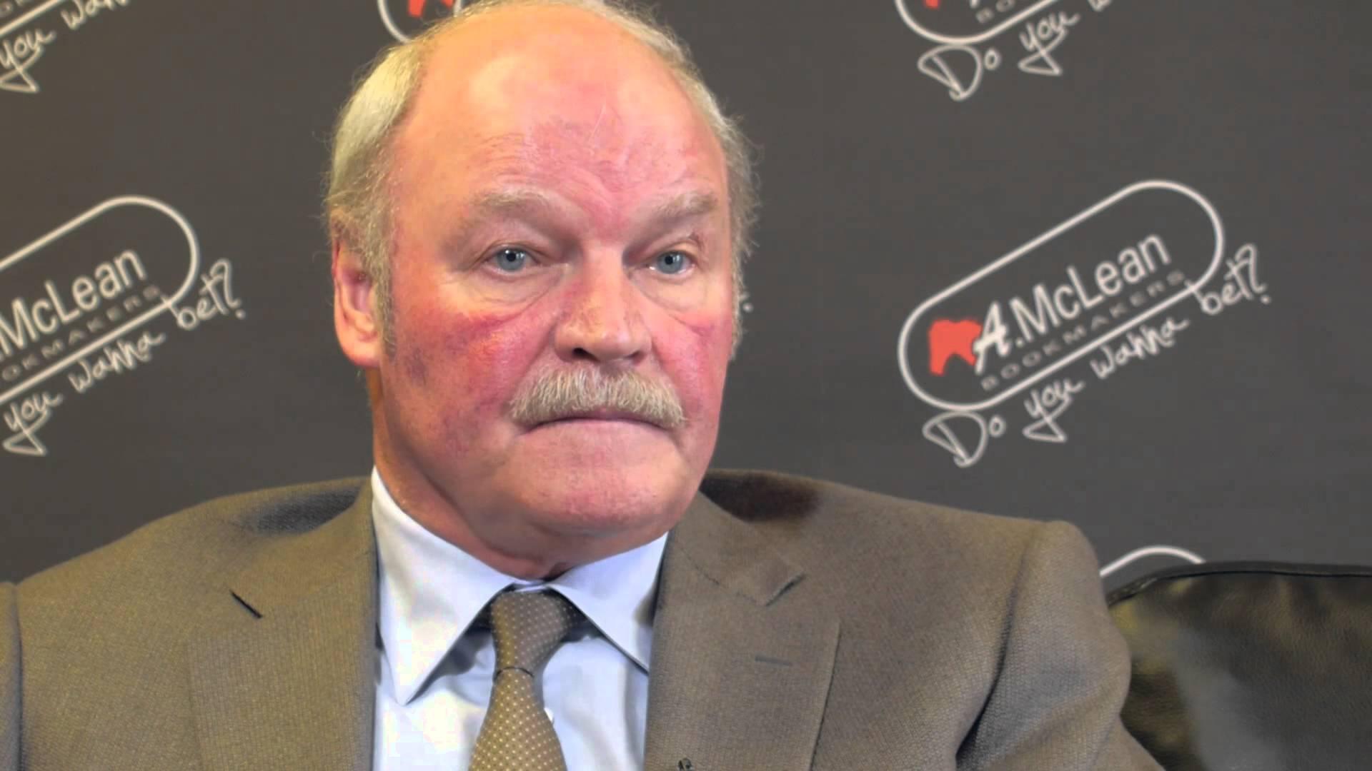 Former Portadown FC manager Ronnie McFall