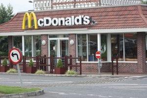 McDonald's restaurant at Rushmere Shopping Centre, Craigavon