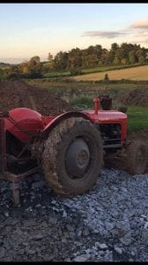 Red Massey Ferguson tractor stolen in Armagh