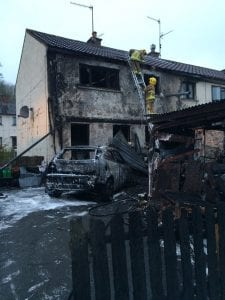 Arson attack at Richhill home