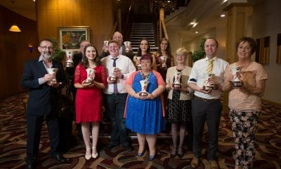 Group photo of the Community Awards winners