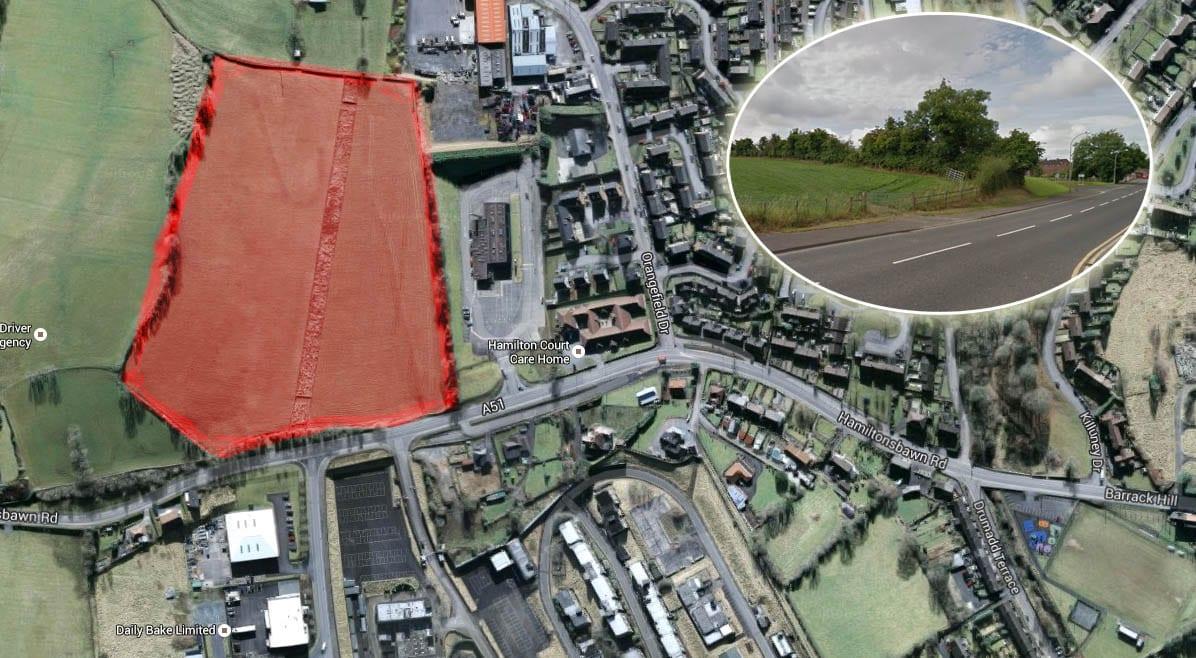 Housing development, Hamiltonsbawn Road, Armagh