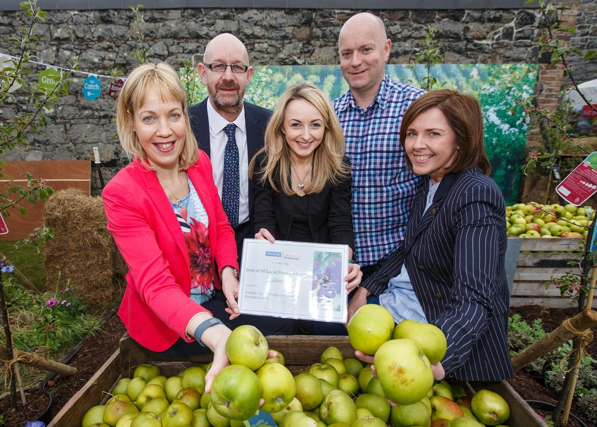 Attending the event was Nicola Wilson (Head of Economic Development), Barry Patience (Head of Environmental Services), Eva Keenan (Project Officer), Arlene Barton (Business Engagement Project Officer) and Jonathan Ellis (StreetScape Manager)