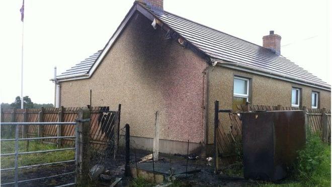 Orange Hall damaged in Craigavon