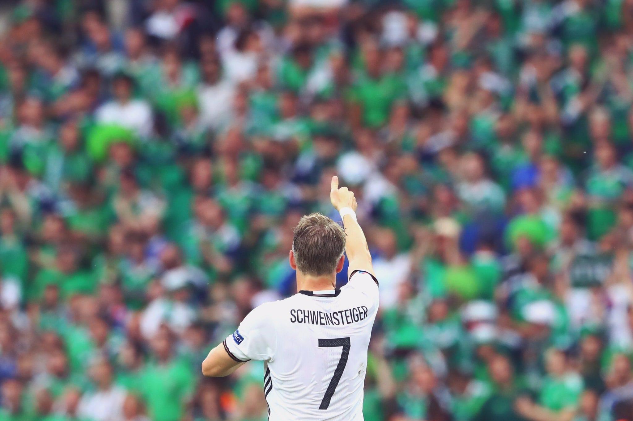 Bastian Schweinsteiger praises Northern Ireland fans