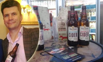 Greg MacNeice with MacIvors Cider