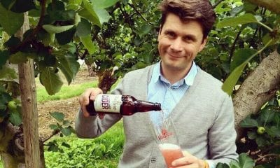 Greg MacNeice of Mac Ivors Cider Co with the new Plum and Ginger rangeGreg MacNeice of Mac Ivors Cider Co with the new Plum and Ginger range