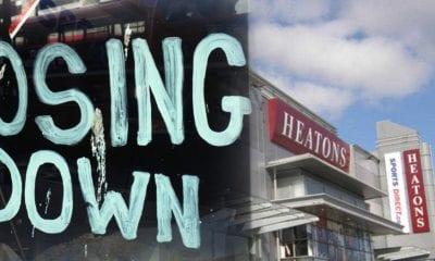 Heatons closing down