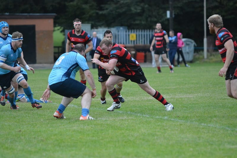 Armagh's Daryl Morton on a charge