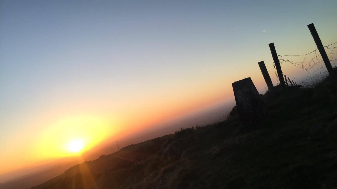 Sunset on Carrigatuke, May 2017 by Rian Doyle