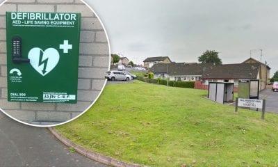 Callan Bridge Armagh defibrillator