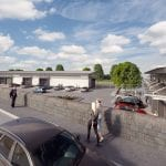 Proposed development at Gillis Yard in Armagh