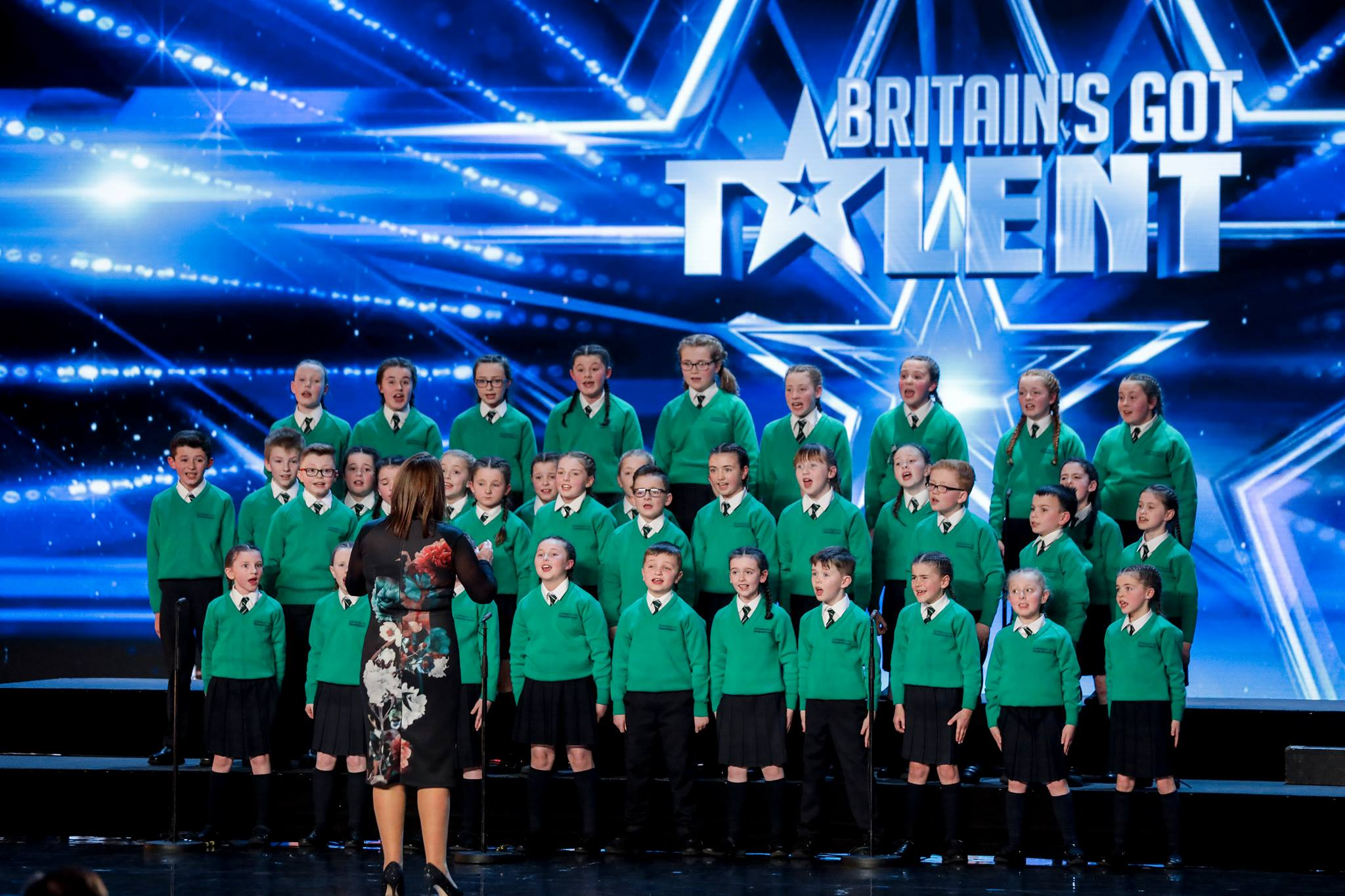 Young Co Down choir knocked out of BGT semi-final