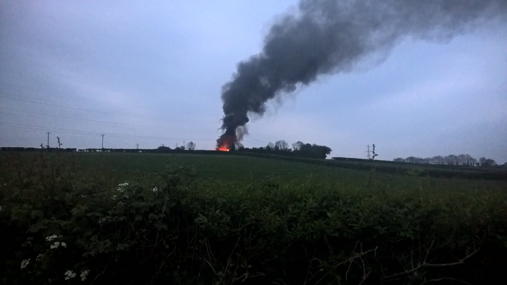 Fire in Tandragee