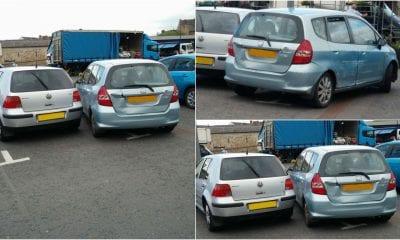 Shambles parking Armagh