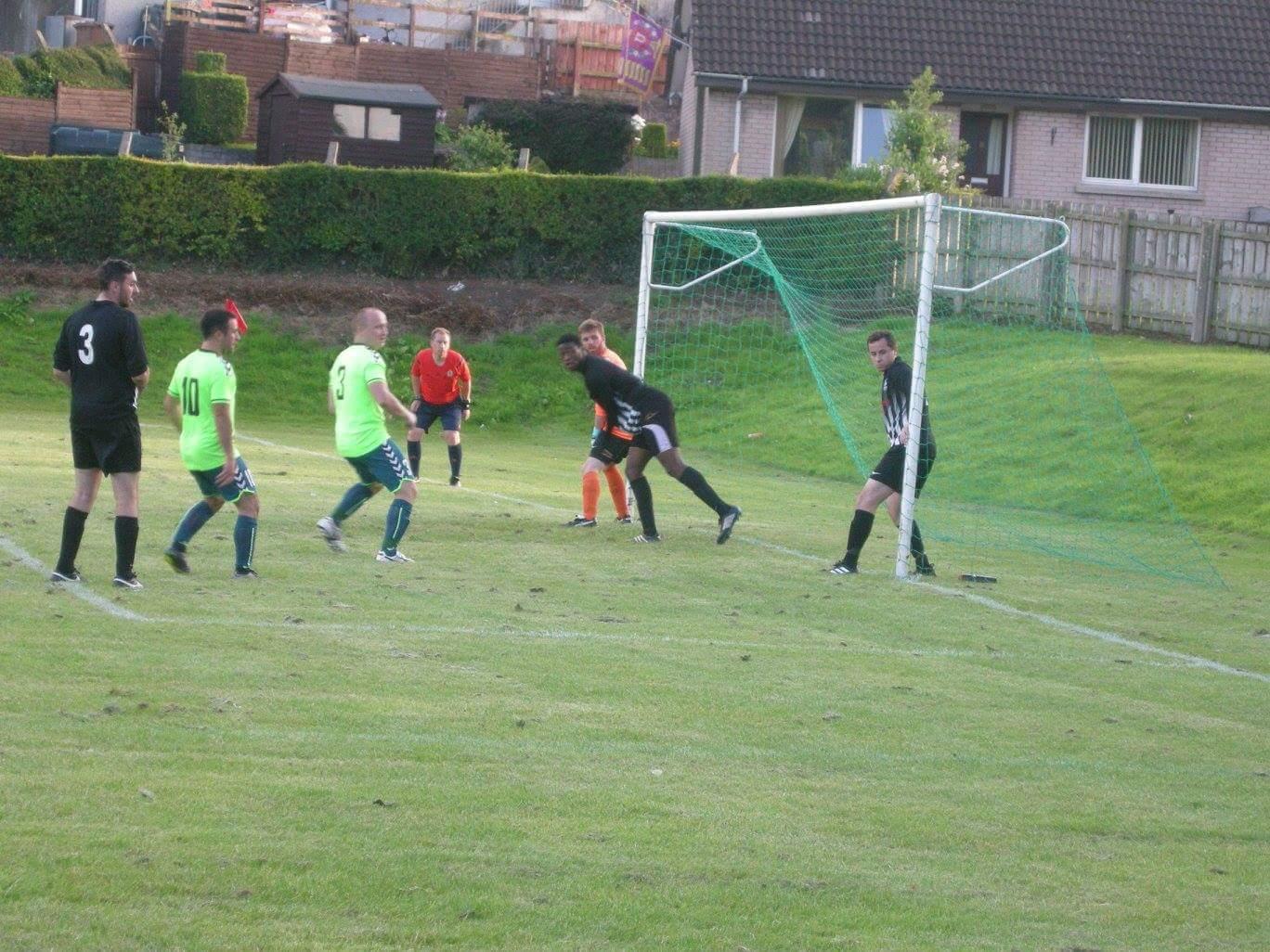 United LT versus Laurelvale FC Armstrong Cup