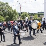 Twelfth celebrations in Richhill, county Armagh