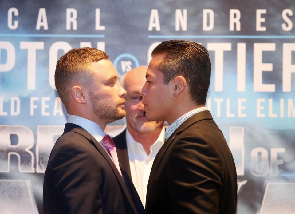 Frampton fight called off after Gutierrez fall