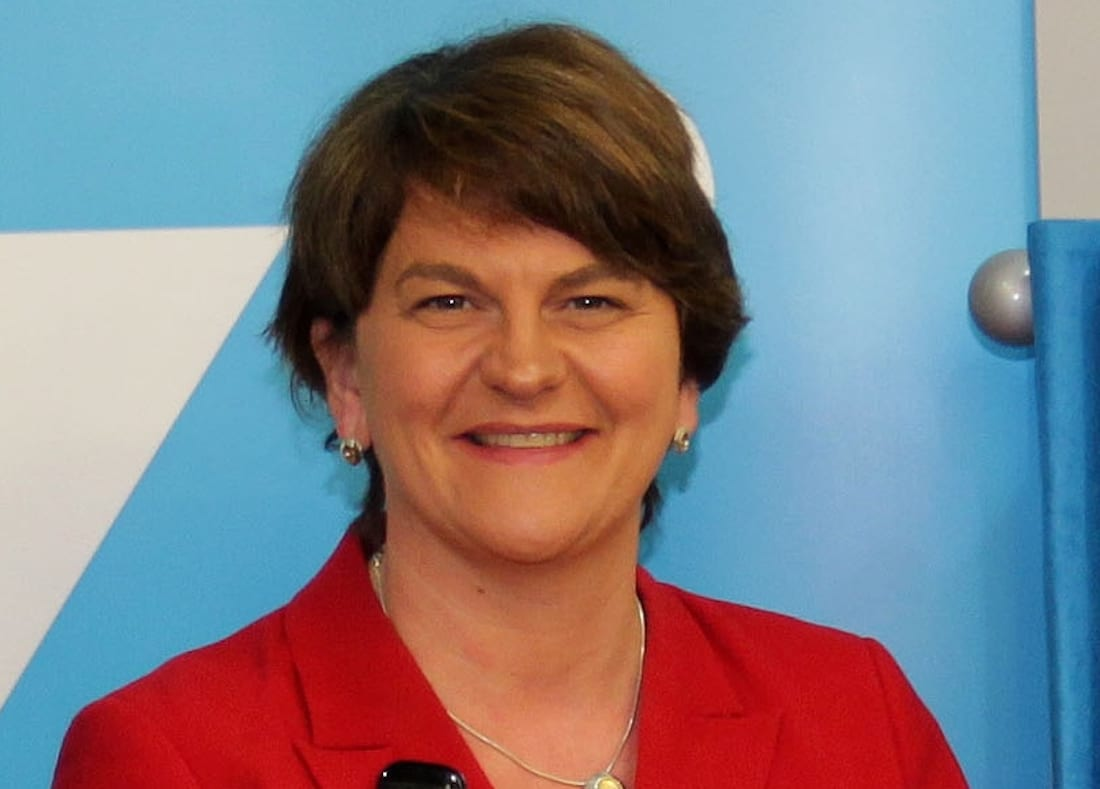Arlene Foster to step down as NI first minister