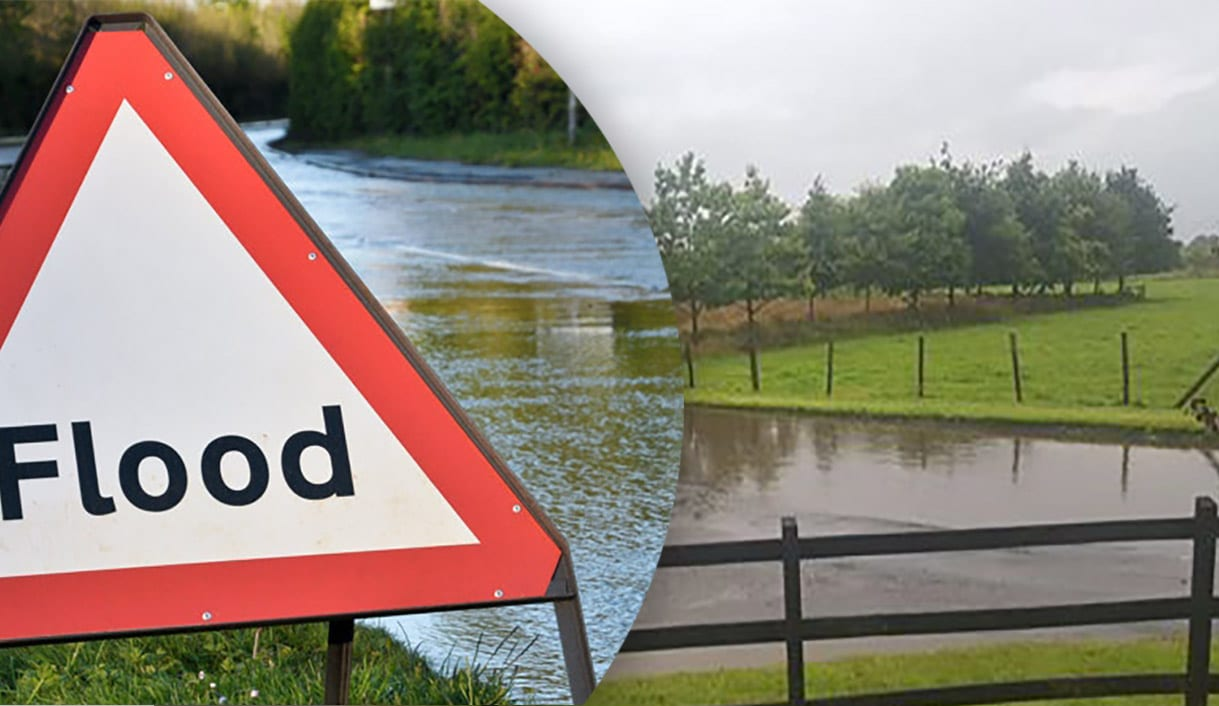 Yellow rain warning in place for Northern Ireland with flooding expected