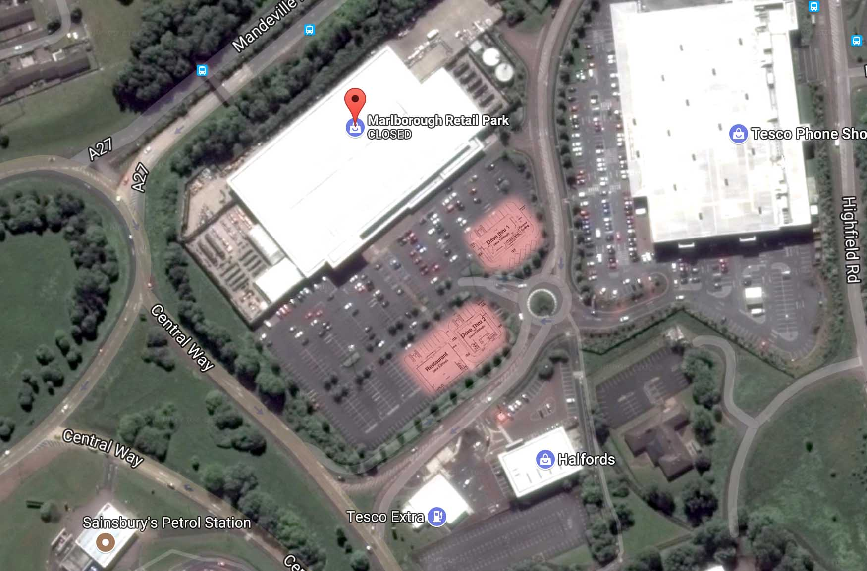Marlborough Retail Park Plans