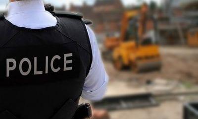 Police building site