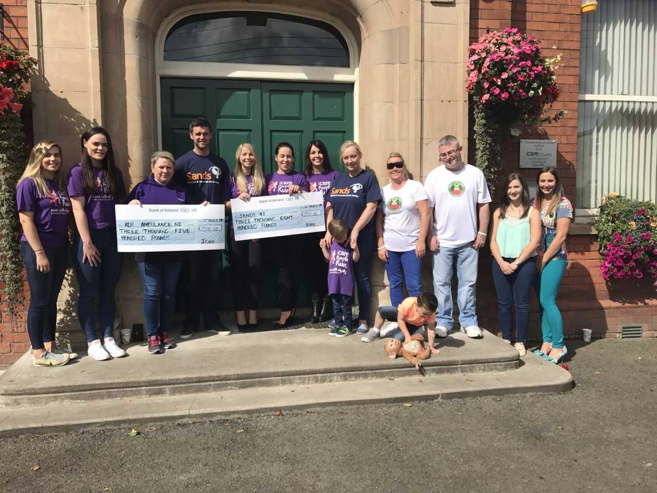 Purple Run Cheque Presentation 1