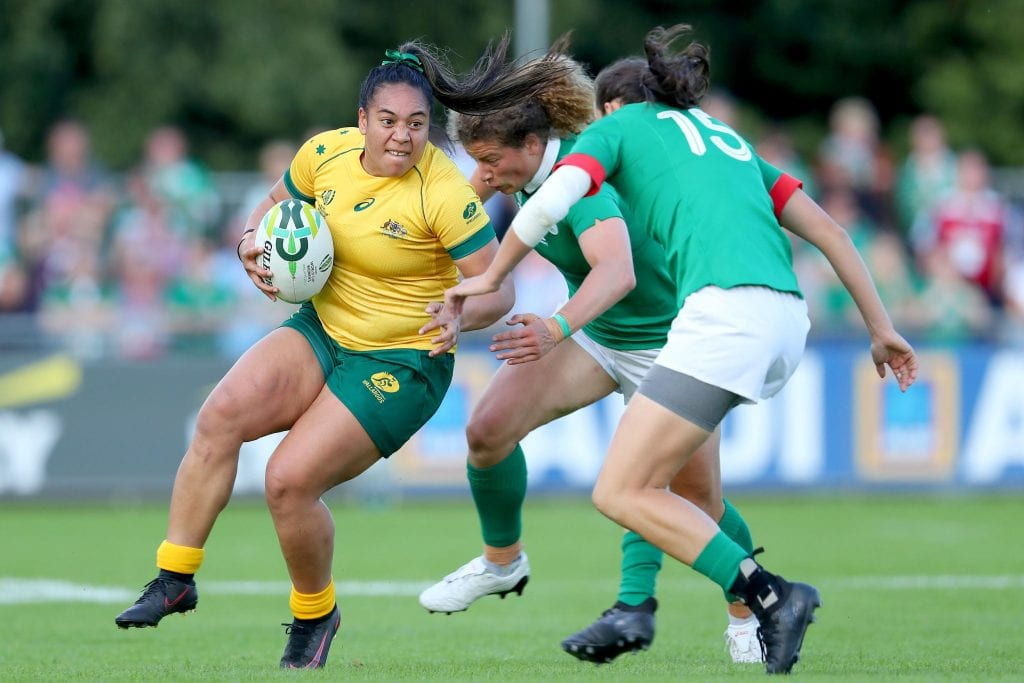 Women's Rugby World Cup Ireland v Australia