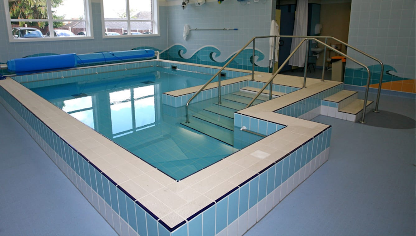 Major refurbishment plan to benefit many users of hospital for Pool design regulations