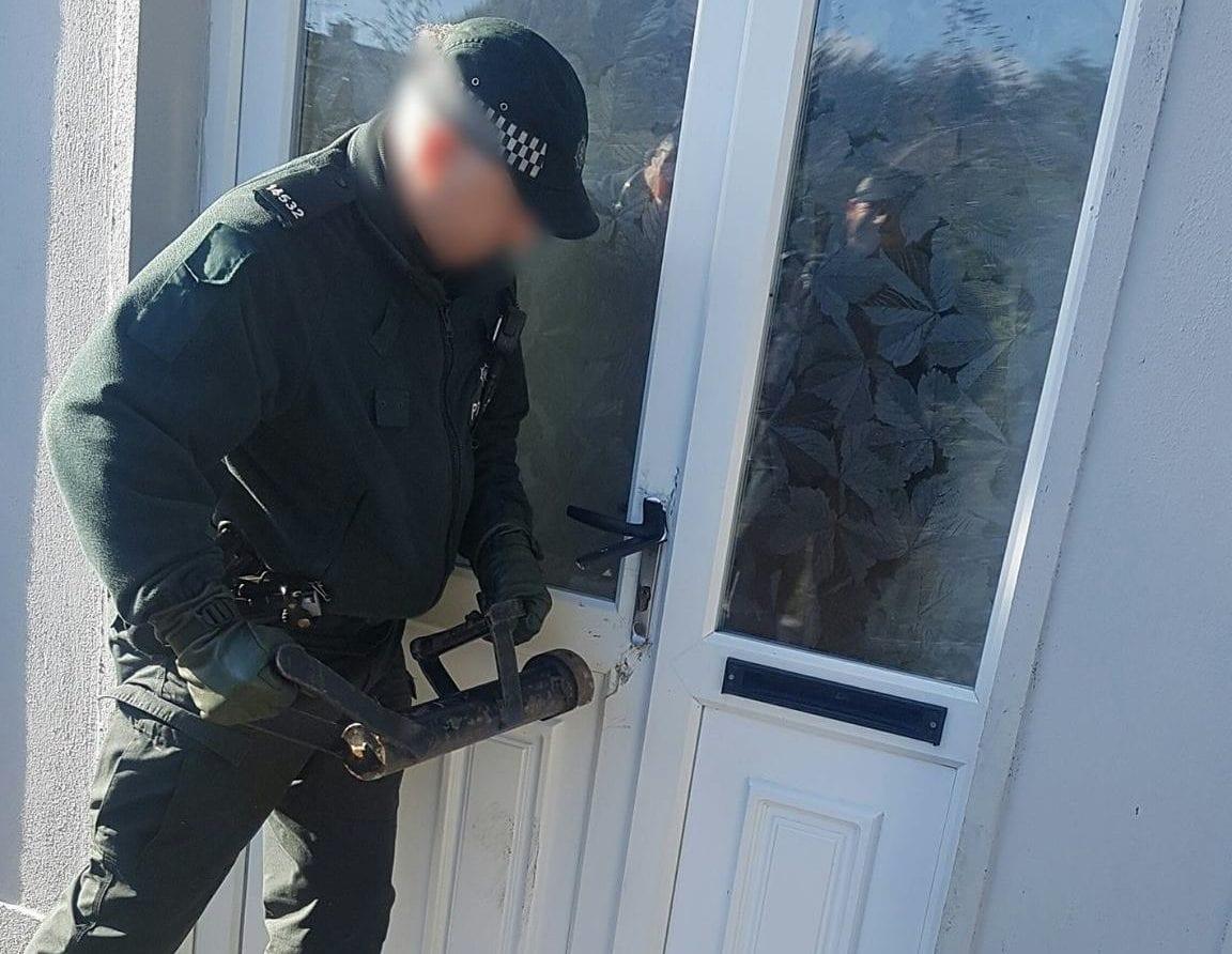 Police house raid