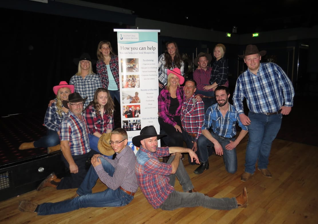 Southern Area Hospice goes Country