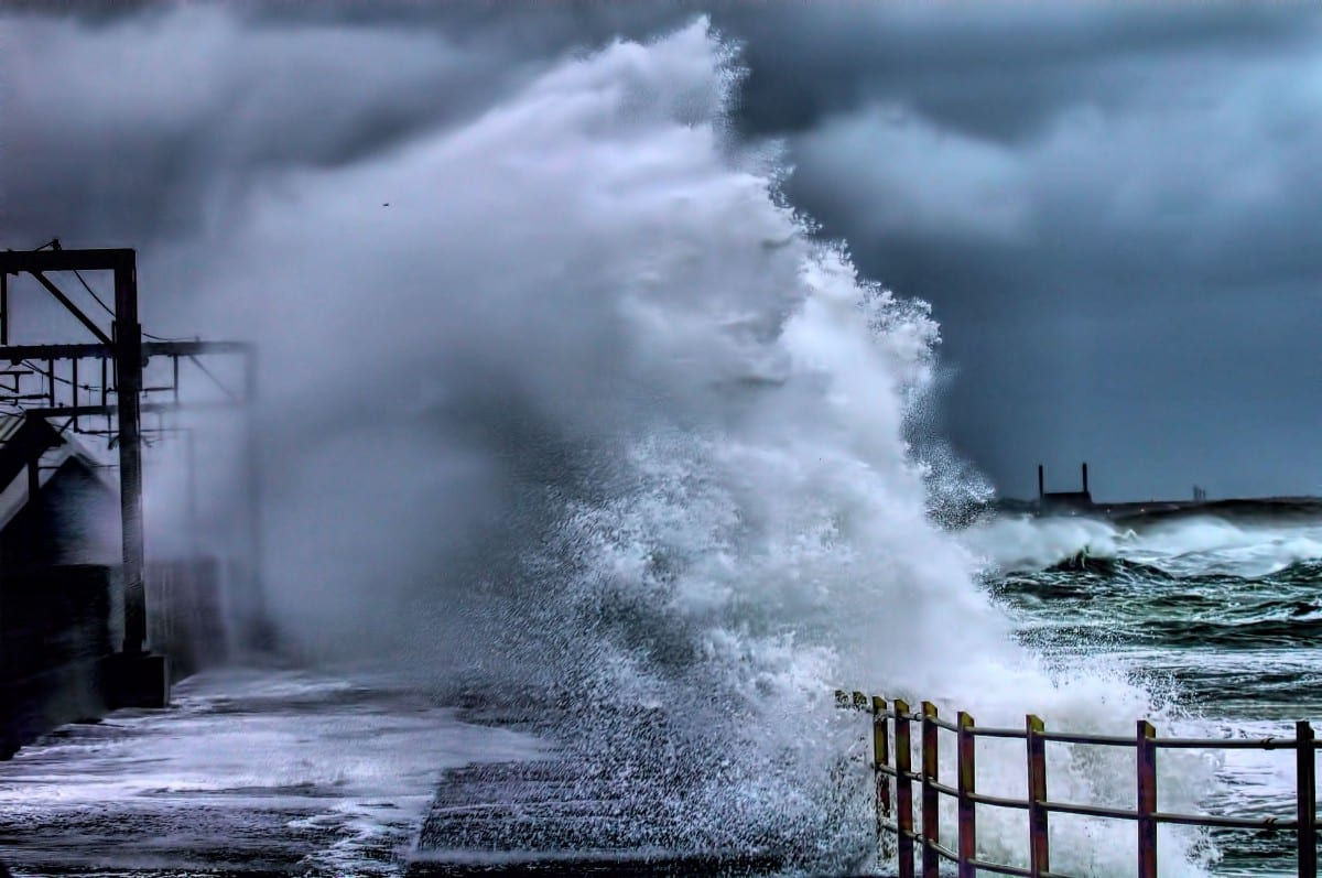 Storms 'posing risk to life' to hit North Somerset coastline today