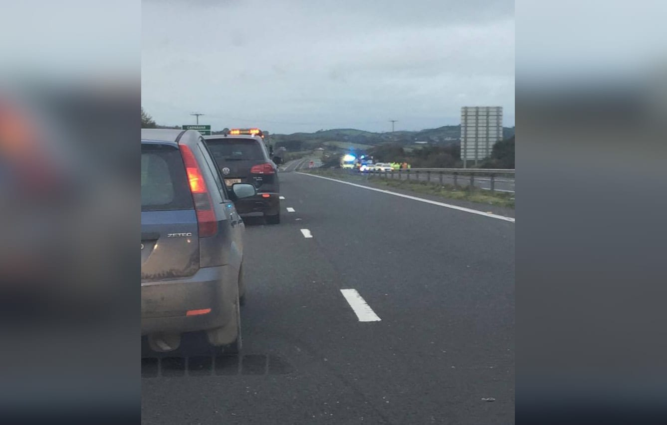 Accident A1 Newry
