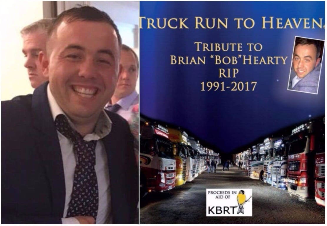Brian Hearty Truck Run