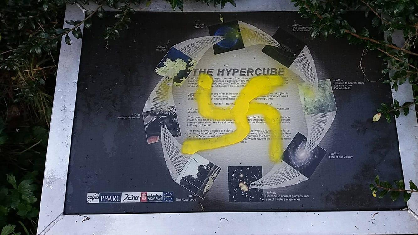 Graffiti Armagh Planetarium