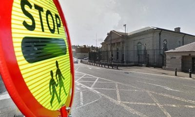Lollipop protest Armagh